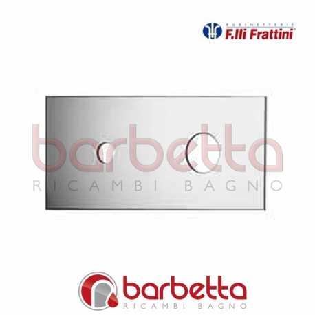 PIASTRA PER BATTERIA LAVABO A PARETE LUCE SUITE FRATTINI R19011